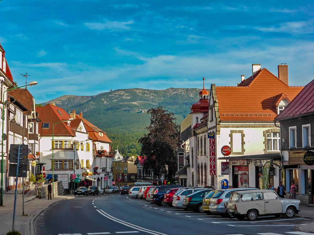 Szklarska Poręba (woj. dolnośląskie), centrum miasta