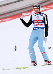 Bjoern Einar Romoeren of Norway, third place, at e.on Ruhrgas FIS World Cup Ski Jumping on K215 ski flying hill, on March 14, 2008 in Planica, Slovenia . (Photo by Vid Ponikvar / Sportal Images)./ Sportida)