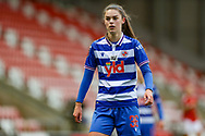 Reading forward Emma Harris (36) during the FA Women's Super League match between Manchester United Women and Reading LFC at Leigh Sports Village, Leigh, United Kingdom on 7 February 2021.