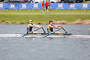 Race: 350  Event: Non-Champ A-C 2x  Final<br /> <br /> British Rowing Masters Championships 2018<br /> Sunday<br /> <br /> To purchase this photo, or to see pricing information for Prints and Downloads, click the blue 'Add to Cart' button at the top-right of the page.