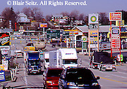 Southwest PA, Commerce, Intersection Interstates 76 and 70, US Rt #30, Breezewood, Pennsylvania
