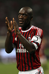 14-05-2011 VOETBAL: AC MILAN - CAGLIARI: MILAN<br /> Clarence Seedorf<br /> ***NETHERLANDS ONLY***<br /> ©2011- FRH-EXPA/ InsideFoto/ Paolo Nucci