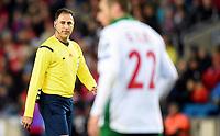 Fotball<br /> UEFA Euro 2016 Matchday 3<br /> Norge v Bulgaria / Norway v Bulgaria 2:1<br /> 13.10.2014<br /> Foto: Morten Olsen, Digitalsport<br /> <br /> Olegaria Benquerenca - referee Portugal