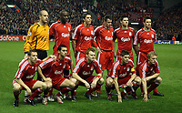 Photo: Paul Thomas.<br /> Liverpool v Barcelona. UEFA Champions League. Last 16, 2nd Leg. 06/03/2007.<br /> <br /> Liverpool.