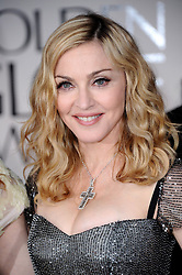 Madonna arriving for the 69th Annual Golden Globe Awards Ceremony, held at the Beverly Hilton Hotel in Los Angeles, CA, USA, on January 15, 2012. Photo by Lionel Hahn/ABACAPRESS.COM  | 304568_003 Los Angeles Etats-Unis United States