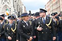 G-Force police at the Dublin Pride 2012 LGBTQ festival parade Dublin City Ireland. Saturday 30th June 2012.