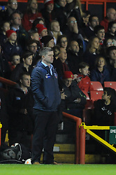 Bristol Academy Womens manager, Dave Edmondson - Photo mandatory by-line: Dougie Allward/JMP - Mobile: 07966 386802 - 13/11/2014 - SPORT - Football - Bristol - Ashton Gate - Bristol Academy Womens FC v FC Barcelona - Women's Champions League