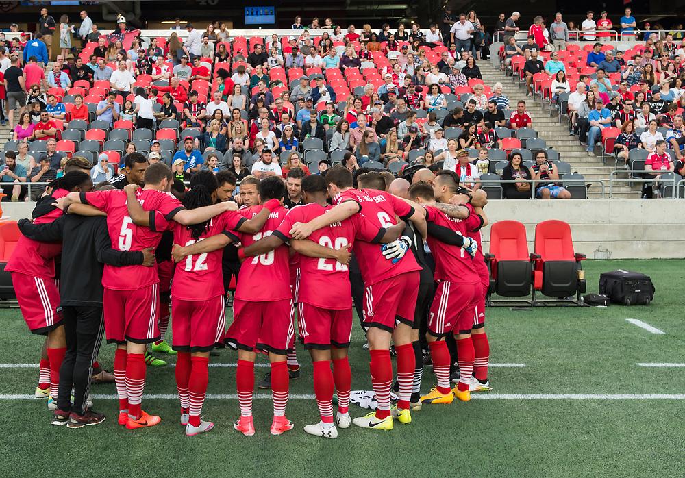 OTTAWA, ON - JUNE 10: USL match between the Ottawa Fury FC and the Harrisburg City Islanders at TD Place Stadium in Ottawa, ON. Canada on June 10, 2017.<br /> <br /> PHOTO: Steve Kingsman/Freestyle Photography/Ottawa Fury FC
