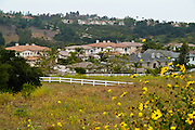 Residential Neighborhood In Rancho Santa Margarita Orange County California