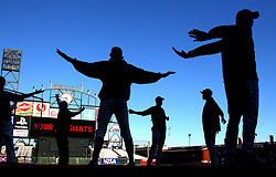 Stretching, 2010 World Series Champion Giants
