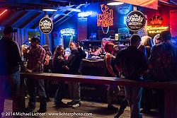 The Iron Horse Saloon during Biketoberfest, Daytona Beach, FL, October 18, 2014, photographed by Michael Lichter. ©2014 Michael Lichter