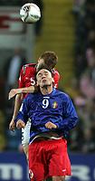 Fotball , 08. oktober 2005 , VM-kvalifisering , Norge - Moldova 1-0<br /> Norway - Moldova<br /> Serghei Rogaciov Moldova