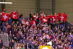 Jubilant supporters<br /> CHI Genève 2018<br /> © Hippo Foto - Dirk Caremans<br /> 09/12/2018