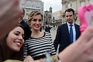 021915 Spanish Royals visit A Coruna, Galicia
