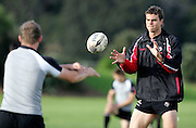 during the Canada rugby team training session, Auckland, New Zealand on Monday 11 June 2007. Photo: Hagen Hopkins/PHOTOSPORT