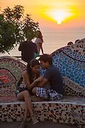 El Parque del Amor, Lovers Park, Miraflores, Lima, Peru