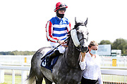 Vincenzo Coccotti ridden by Joshua Bryan trained by Patrick Chamings - Mandatory by-line: Robbie Stephenson/JMP - 22/07/2020 - HORSE RACING - Bath Racecoure - Bath, England - Bath Races