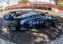 March 9, 2019 - St. Petersburg, FL, U.S. - ST. PETERSBURG, FL - MARCH 09: driver Robert Megennis (27) during the Indy Lights Race of St. Petersburg on March 9 in St. Petersburg, FL. (Photo by Andrew Bershaw/Icon Sportswire) (Credit Image: © Andrew Bershaw/Icon SMI via ZUMA Press)