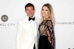 May 23, 2019 - Antibes, Alpes-Maritimes, Frankreich - Antonio Banderas and Nicole Kimpel attending the 26th amfAR's Cinema Against Aids Gala during the 72nd Cannes Film Festival at Hotel du Cap-Eden-Roc on May 23, 2019 in Antibes (Credit Image: © Future-Image via ZUMA Press)