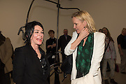 SUE WEBSTER; ELISABETH MURDUCH, STICKS WITH DICKS AND SLITS, Tim Noble and Sue Webster. Blain Southern. hanover Sq. london. 2 February 2017