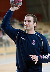 Uros Zorman at Open training session for the public of Slovenian handball National Men team before European Championships Austria 2010, on December 27, 2009, in Terme Olimia, Podcetrtek, Slovenia.  (Photo by Vid Ponikvar / Sportida)