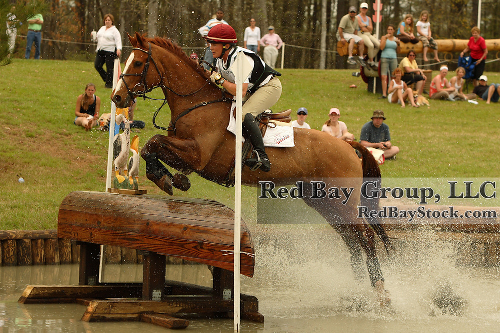 Bonnie Mosser (USA) and Close The Deal at Poplar Place Spring Horse Trials held in Hamilton, Georgia
