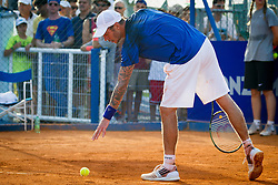 Andreas Haider-Maurer (AUT) during a tennis match against the Martin Klizan (SVK) in second round of singles at 26. Konzum Croatia Open Umag 2015, on July 23, 2015, in Umag, Croatia. Photo by Urban Urbanc / Sportida