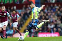 Aston Villa v Derby County - Sky Bet Championship<br /> BIRMINGHAM, ENGLAND - APRIL 28 :  Bradley Johnson, of Derby County, tries a shot at Villa Park