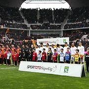 Kayserispor's and Galatasaray's players during their Turkish superleague soccer match Kayserispor between Galatasaray at Kadir Has Stadium in Kayseri Turkey on Sunday, 17 March 2013. Photo by TURKPIX