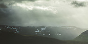 Highland and sun rays through the clouds, Skjervøy municipality, Norway Ⓒ Davis Ulands | davisulands.com