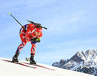 BILDET INNGÅR IKEK I FASTAVTALER. ALL NEDLASTING BLIR FAKTURERT.<br /> <br /> Skiskyting<br /> Foto: imago/Digitalsport<br /> NORWAY ONLY<br /> <br /> Hochfilzen 11.12.2015, Biathlonarena, Hochfilzen, AUT, BMW IBU Weltcup, Sprint, Damen, im Bild Fanny Horn Birkeland (NOR) // Fanny Horn Birkeland of Norway during Ladies Sprint of BMW IBU Biathlon World Cup at the Biathlonstadium in Hochfilzen, Austria on 2015/12/11.