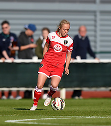 Bristol Academy's Nadia Lawrence in action during the FA Women's Super League match between Bristol Academy Women and Sunderland AFC Ladies at Stoke Gifford Stadium on 25 July 2015 in Bristol, England - Mandatory by-line: Paul Knight/JMP - 25/07/2015 - SPORT - FOOTBALL - Bristol, England - Stoke Gifford Stadium - Bristol Academy Women v Sunderland AFC Ladies - FA Women's Super League