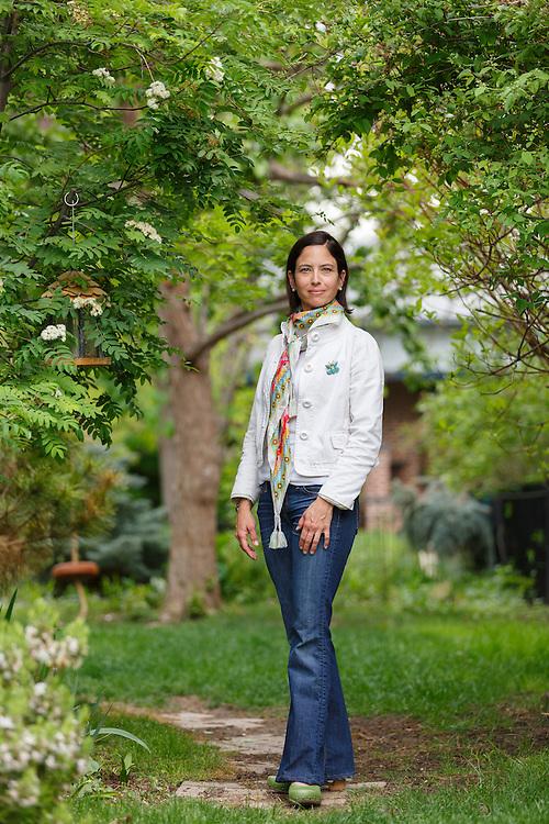 09 May 2014:  Dr. Bridget Bailey, photographed at her home in Denver, CO for PracticeLink Magazine.  ©Trevor Brown, Jr./Trevor Brown Photography
