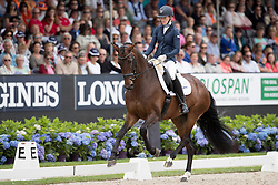 Roerink Veronique, NED, Flanell<br /> Final 6 years of age<br /> World Championship Young Dressage Horses <br /> Ermelo 2016<br /> © Hippo Foto - Dirk Caremans<br /> 31/07/16