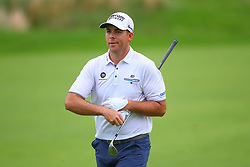 May 19, 2019 - Farmingdale, NY, U.S. - FARMINGDALE, NY - MAY 19:  Luke List of the United States on the 18th hole during the final round of the 2019 PGA Championship at the Bethpage Black course with a score of 8 under par on May 19, 2019 in Farmingdale, New York.(Photo by Rich Graessle/Icon Sportswire) (Credit Image: © Rich Graessle/Icon SMI via ZUMA Press)
