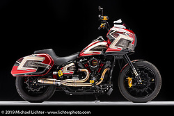 Jerry Covington's Thrill Seeker FXLRS. Photographed by Michael Lichter in Sturgis, SD. August 4, 2021. ©2021 Michael Lichter