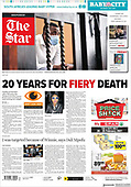 February 26, 2021 (AFRICA): Front-page: Today's Newspapers In Africa