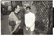 ANDREW LOGAN, DUGGIE FIELDS, Bianca Juarez, PRIVATE VIEW, London, May 1982