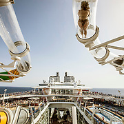 cruising on the biggest ship in the world