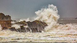 Pictured: <br /> Storm Christoph hits North Berwick and The East Coast of Scotland- 200121<br /> <br /> Dave Cullen | EEm 20 January 2021