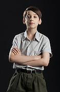 Cataguases_MG, Brasil.<br /> <br /> Imagens do longametragem O menino no espelho, com direcao de Guilherme Fiuza. Na foto o ator mirim Lino Facioli.<br /> <br /> Images of the feature film O menino no espelho (The boy in the mirror), with direction by Guilherme Fiuza. In the picture the child actor Lino Facioli.<br /> <br /> Foto:  BRUNO MAGALHAES / NITRO