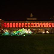 Il FuoriSalone 2010 nelle vie di centrali Milano, Università Statale<br /> <br /> Courtyard of State University in Milan