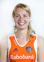 AMSTELVEEN - Willemijn Bos, speler Nederlands Hockey team. KNHB COPYRIGHT KOEN SUYK
