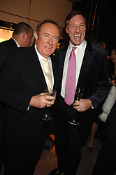 Left to right, ANDREW NEIL and LORD BROCKET at a Christmas party hosted by The Business and Alisa Moussaieff held at the Moussaieff showrooms, 172 New Bond Street, London on 5th December 2007.<br /><br />NON EXCLUSIVE - WORLD RIGHTS