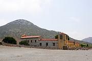 Gouverneto Monastery (Moni Gouvernetou) on the Akrotiri peninsula of the Chania regional unit of Crete, Greece