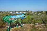 Cows 4 Camp Sculpture Newport Beach