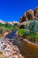 Sulphur Creek, Capitol Reef National Park, Utah USA
