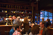New York, NY, Sept. 28, 2013. Hector Perez, wine director of Casa Mono, at work during dinner. Perez moves in a blur past the bar.