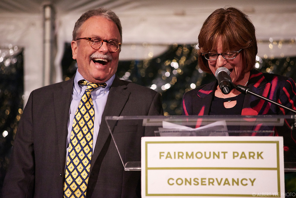 Janet and John Haas: The Park Champion Award<br /> at the Fairmount Park Horticulture Center<br /> April 29, 2016