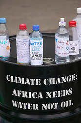 Protest against climate change,